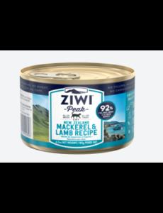 Ziwi Peak Mackerel & Lamb Canned Cat Food, 6.5 oz can
