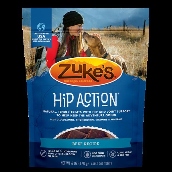 Zuke's Hip Action Beef Dog Treat, 6 oz bag