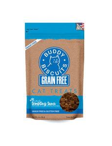 Cloud Star Buddy Biscuits Tempting Tuna Cat Treats, 3 oz bag