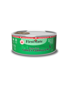 Limited Ingredient Cage Free Turkey Cat Canned Food, 5.5 oz can