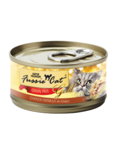 Fussie Cat Chicken in Gravy Canned Cat Food, 5.5 oz can
