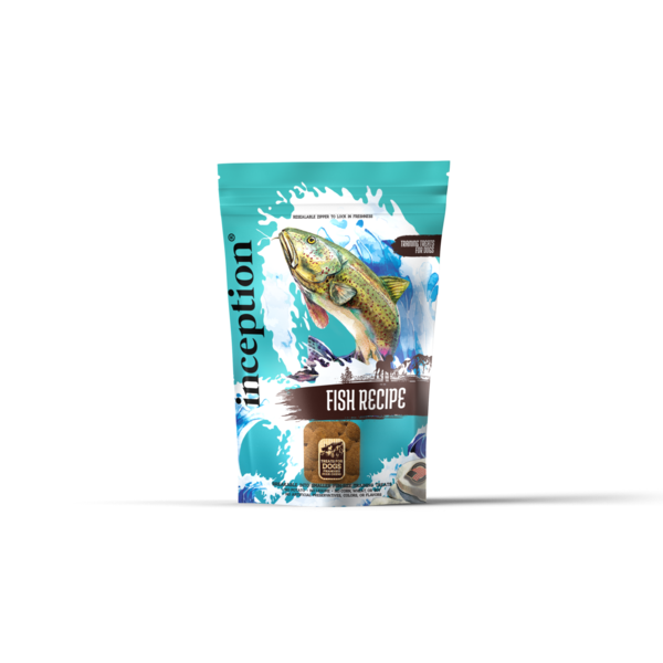 Inception Fish Biscuit Dog Treat, 12 oz bag