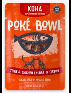 Koha Poke Tuna & Chicken Cat Food Pouch, 3 oz