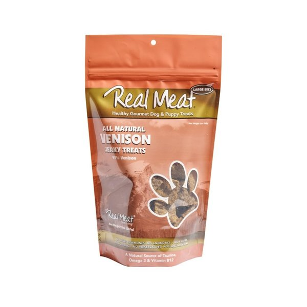 The Real Meat Company Venison Jerky, 12 oz bag