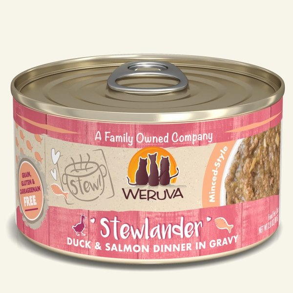 Weruva Stew Canned Cat Food, Stewlander, 2.8 oz