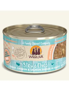 Weruva Stew Canned Cat Food, Stew's Clues, 2.8 oz