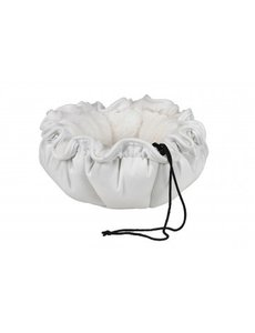 Bowser Pet Buttercup Bed, Winter White, Large