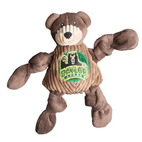 Huggle Hound Baylor Bruiser The Bear Plush Dog Toy