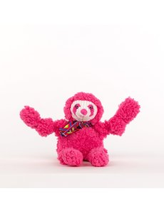 Huggle Hound Wild Things Sloth Plush Dog Toy