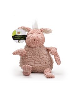 Huggle Hound Penelope The Pig Plush Dog Toy