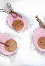 Adriana Vincenti Rose Oval Soap by Adriana Vincenti