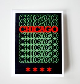 Knight Illustrations Chicago Recyclable: Pan Greeting Card by David Knight