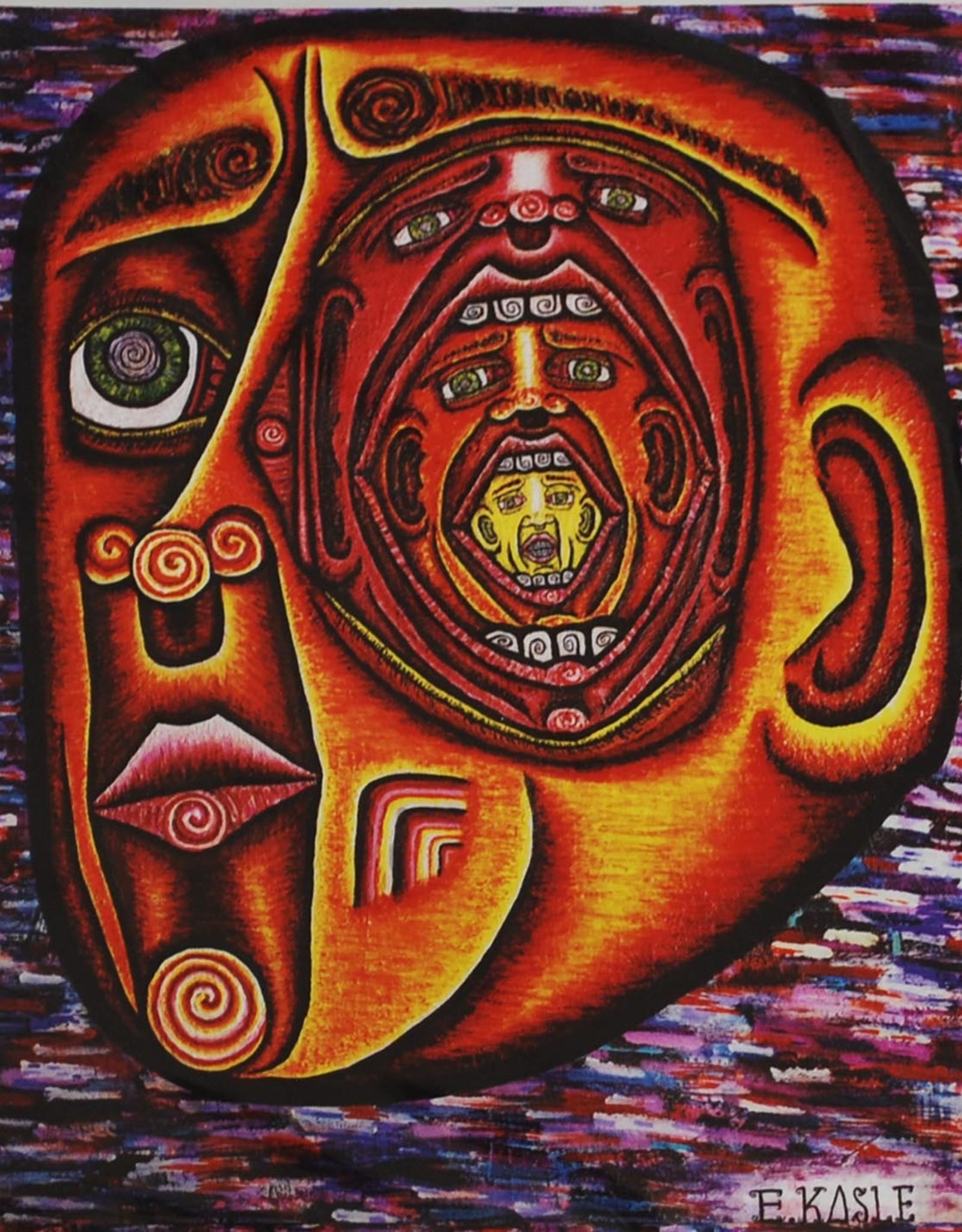 """""""Inside the Mind's Eye"""" Waterproof Vinyl Sticker by Evan Kasle"""