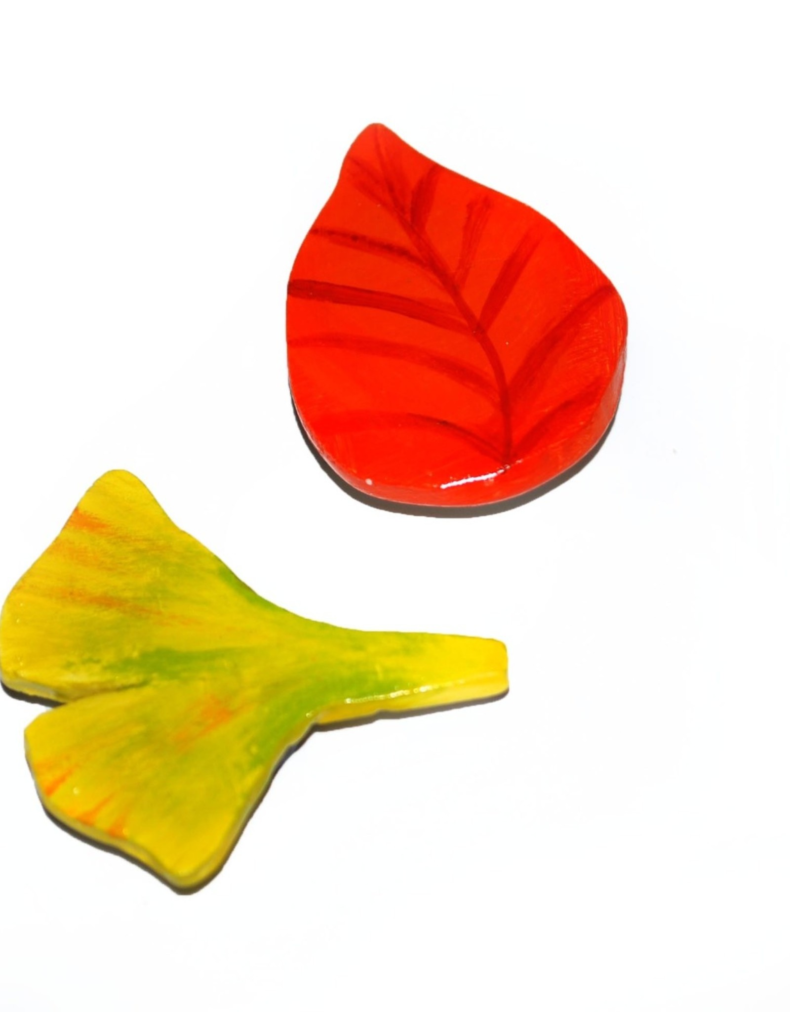 Alli Davis Fall and Ginko Leaf Magnet Set, Alli Davis