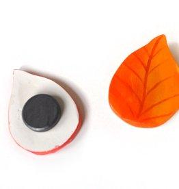 Alli Davis Fall Leaf Magnet Set, Alli Davis
