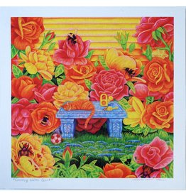 "Megan Rivera ""Rose Garden"" Art Print by Megan Rivera"
