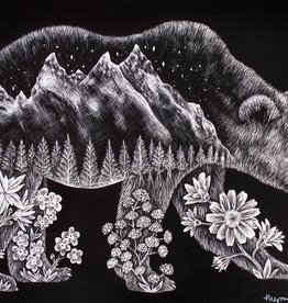"Megan Rivera ""Yosemite"", digital print, Megan Rivera"