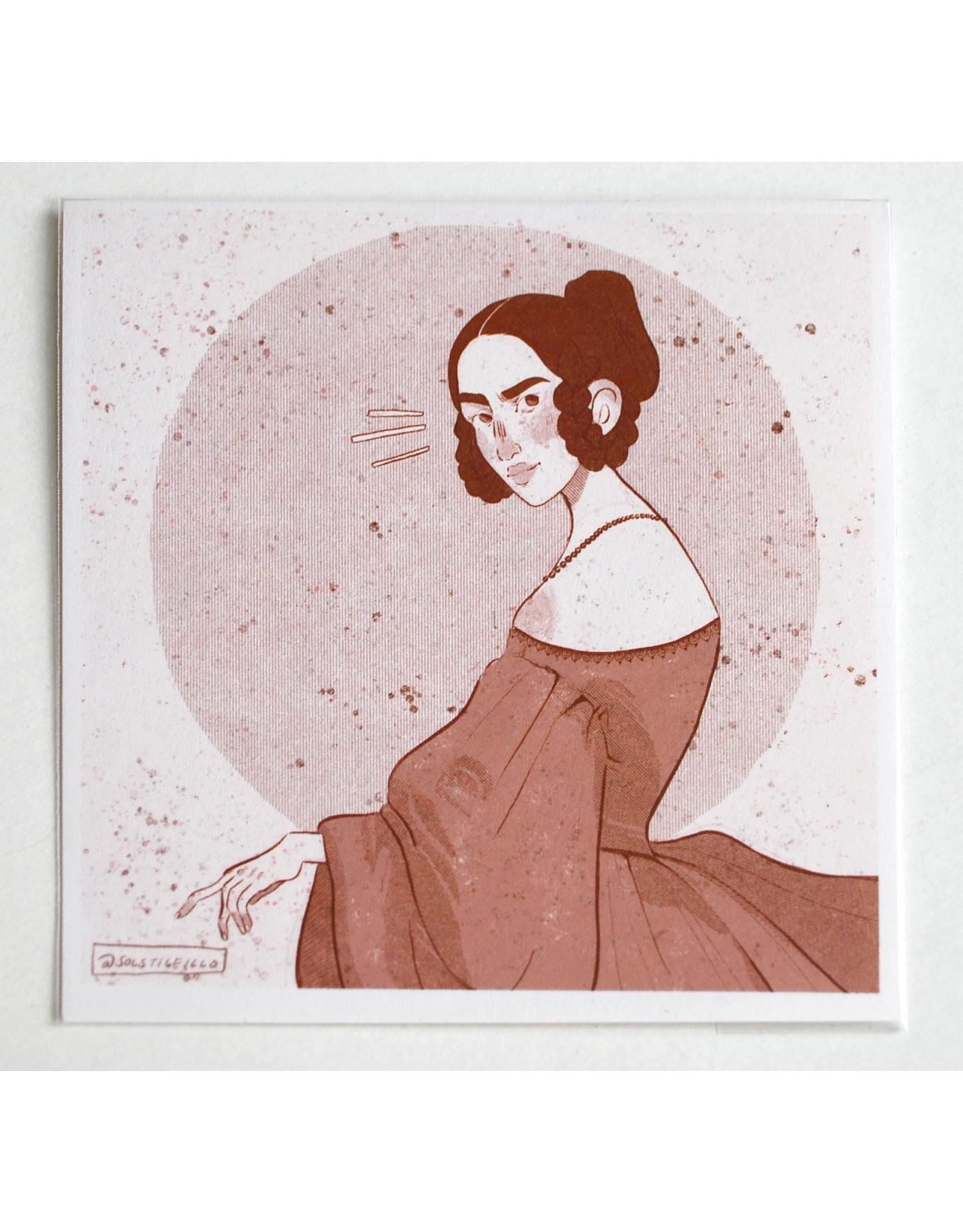"""Historical Fashion"" #2  print by Sol Salinas"