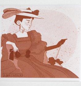 """Historical Fashion"" #3 print by Sol Salinas"