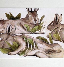 "Shane Tolentino ""Artic Hares"" Digital Print by Shane Tolentino"