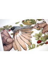 """Shane Tolentino """"Red-Breasted Nuthatch"""" Digital Print by Shane Tolentino"""