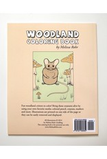 Melissa Rohr Gindling Woodland Coloring Book by Melissa Rohr Gindling