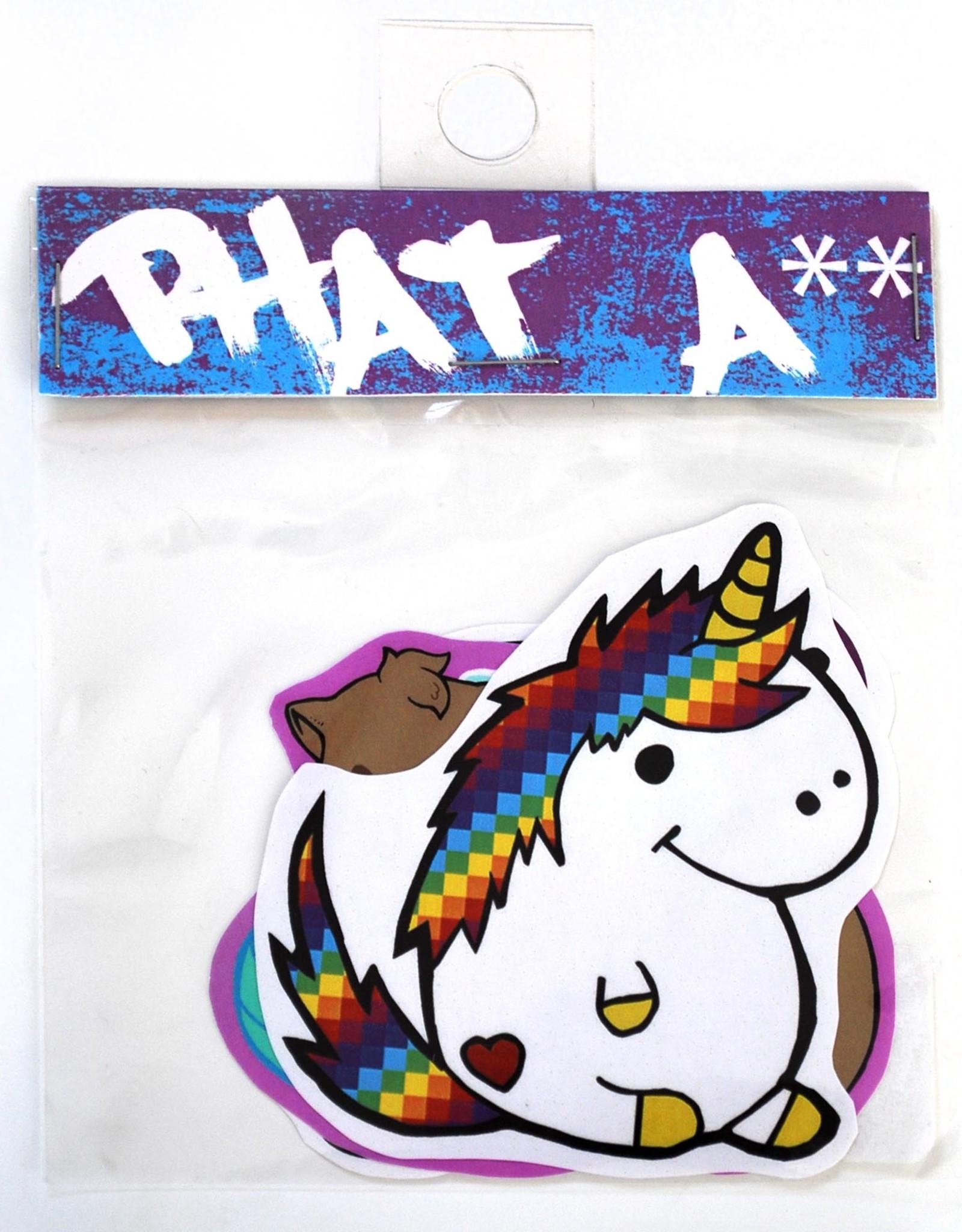 Knight Illustrations Phat Ass Sticker Bundle by David Knight