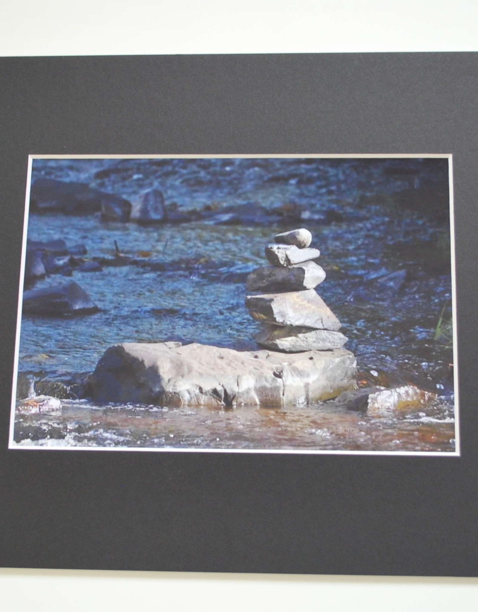 "Daria Percy Matted ""Rocks"" 5x7 photograph by Daria Percy"