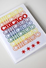 Knight Illustrations Chicago Recyclable: Peace Greeting Card by David Knight