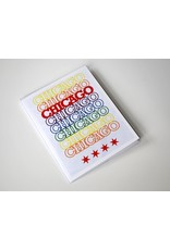 David Knight Chicago Recyclable: Peace Greeting Card by David Knight