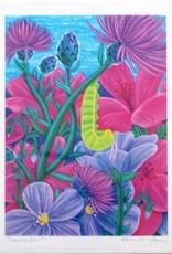 "Megan Rivera ""Caterpillar"" Art Print by Megan Rivera"