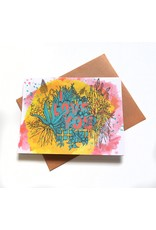 I love You Greeting Card by Hale Ekinci