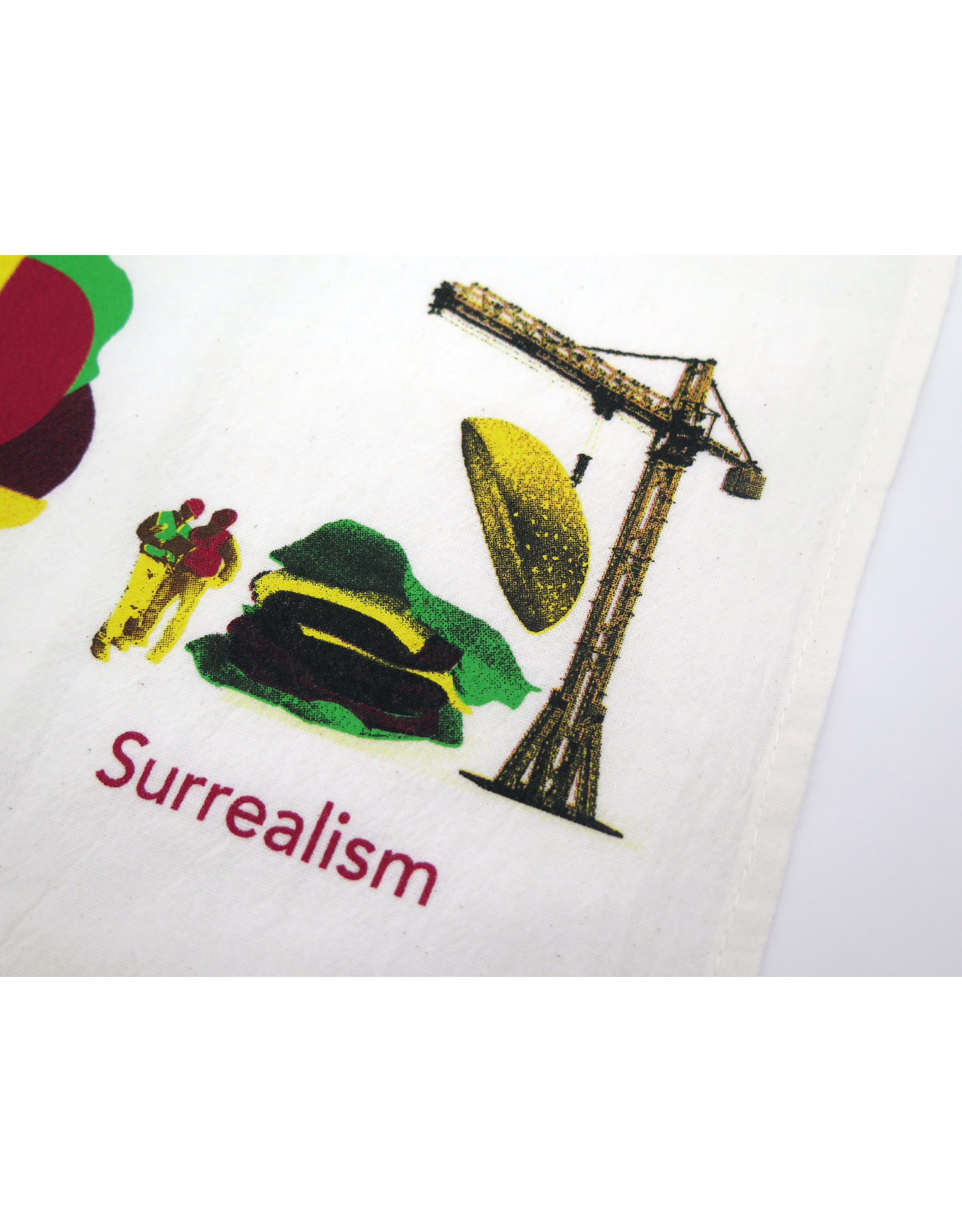 "Buy Columbia, By Columbia ""Burger Art History"" Tea Towel - Buy Columbia, By Columbia"