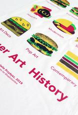 "Buy Columbia, By Columbia ""Burger Art History"" Tea Towel - Buy Columbia, By Columbia"