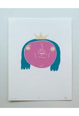 Pretty Boi Screen Print by Kengi Yang
