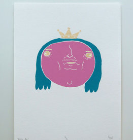 Pretty Boi Screen Print by Kengi Yang