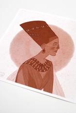 """Historical Fashion"" #4 print by Sol Salinas"