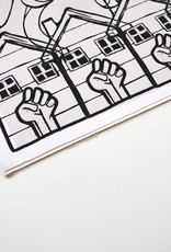 Sam Kirk Helping Hands, 12x12 Giclee Print, Stamped, by Sam Kirk