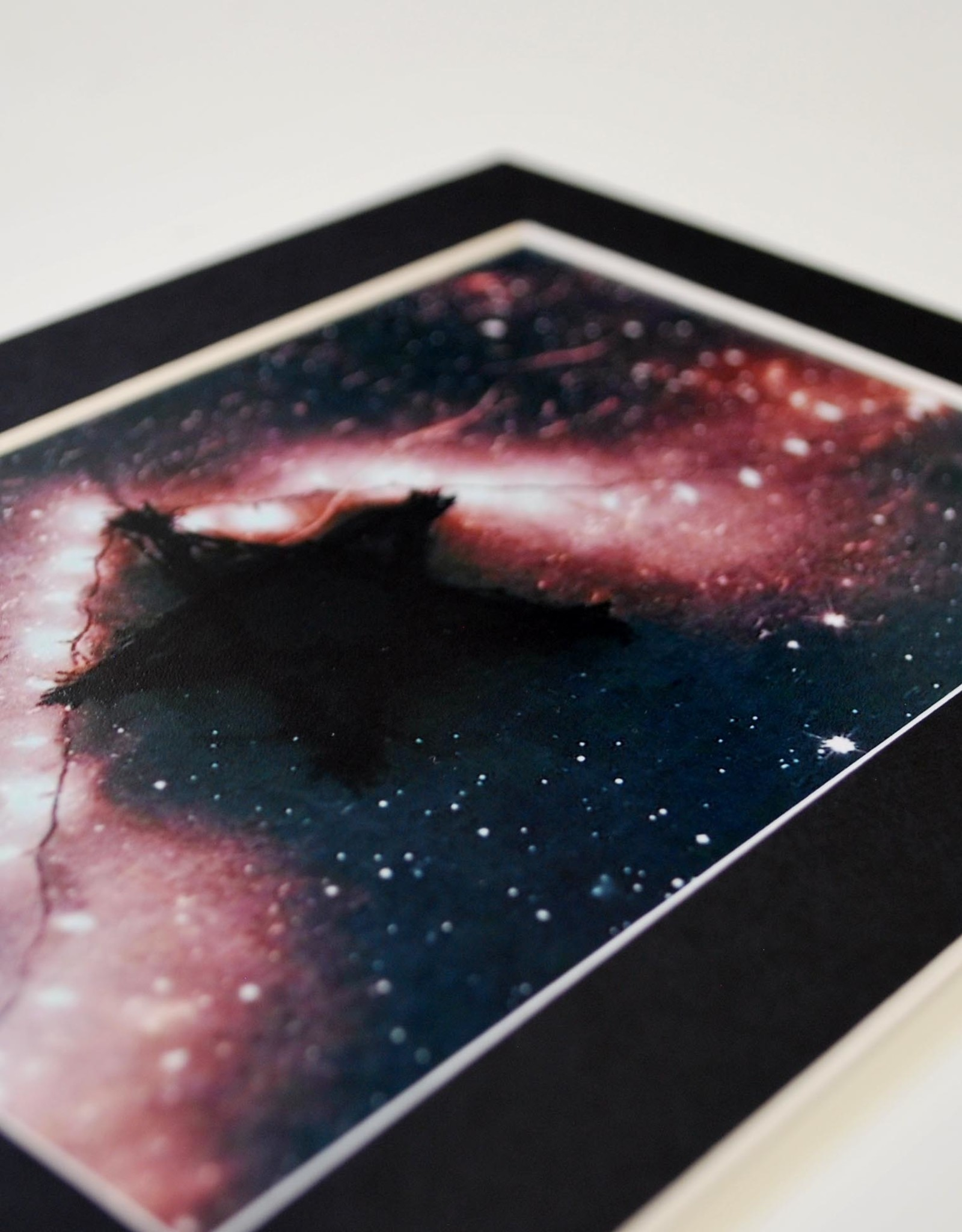 Daria Percy Untitled 1 (star) Matted 4x6 photograph by Daria Percy