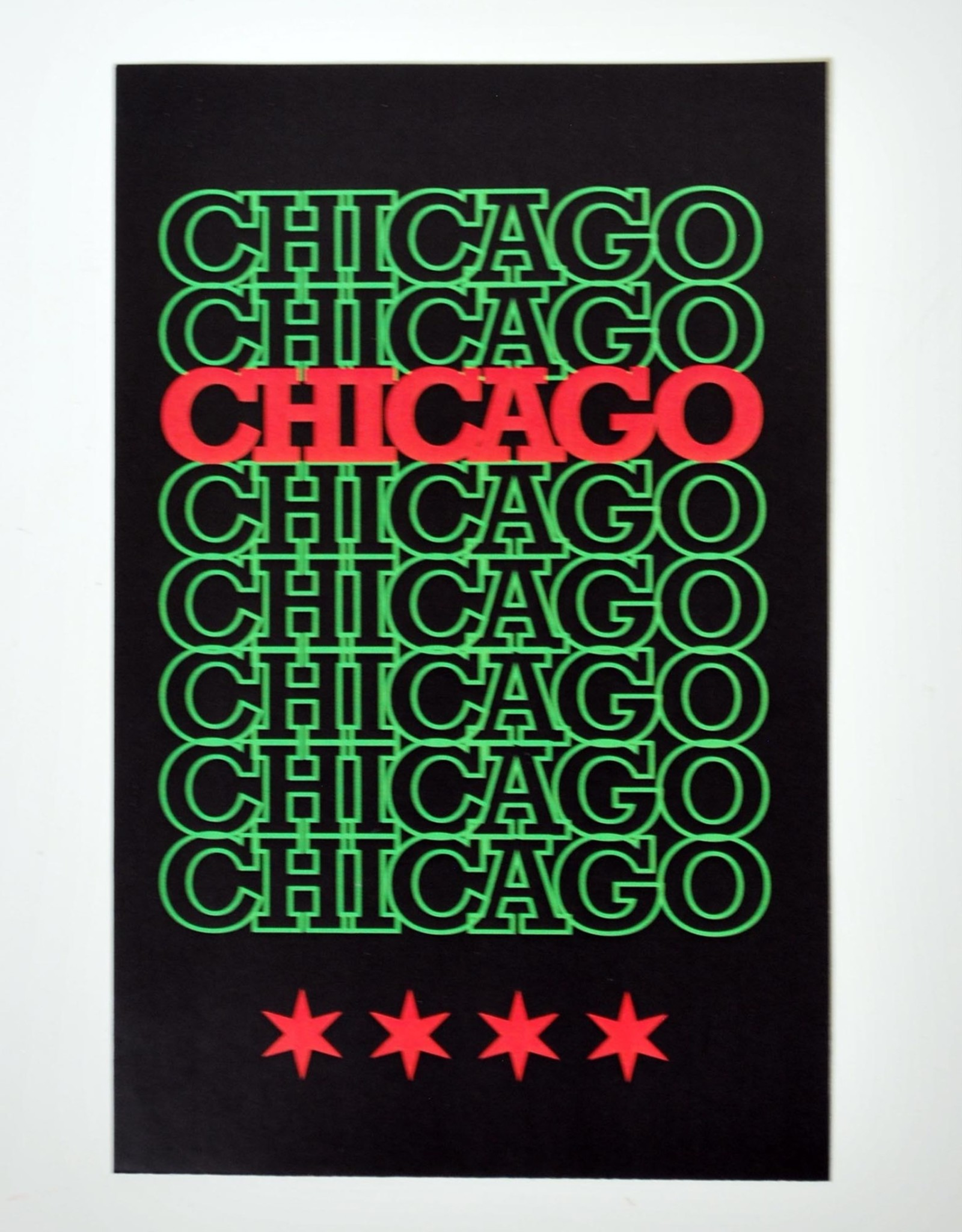 Knight Illustrations Corvus Press: Chicago Pan Recyclable Sticker by David Knight