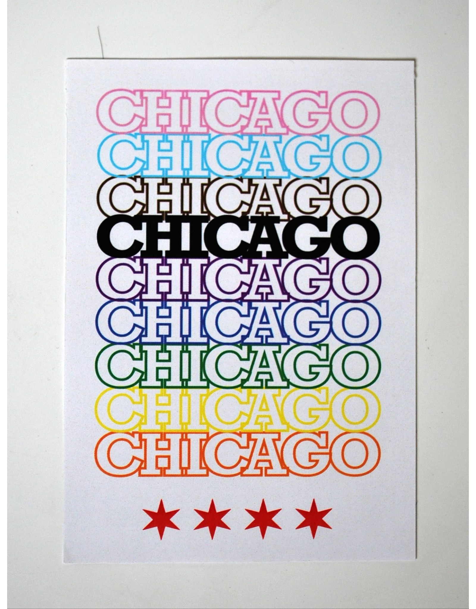 Knight Illustrations Corvus Press: Chicago Peace Recyclable Sticker by David Knight