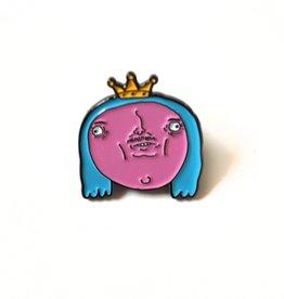 Pretty Boi Enamel Pin by Kengi Yang