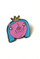 Pretty Boi Enamel Pin by Kengi Yang