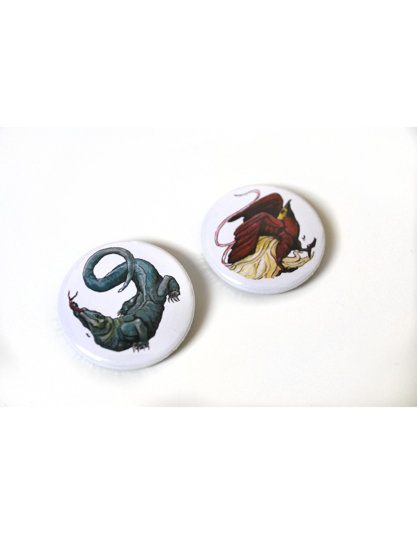 "Set of 2 Buttons (1.5"") by Laiqah Hanold"