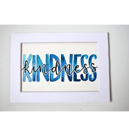 "Watercolor Positivity ""Kindness"" by Jennifer Pollack"