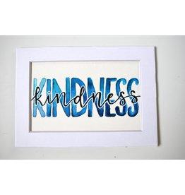 """Watercolor Positivity """"Kindness"""" by Jennifer Pollack"""