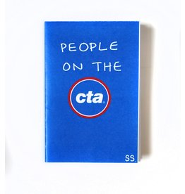 "Savanna Steffens ""People On the CTA"" digital printed zine by Savanna Steffens"