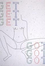 "Triana Drozd ""GET GOT"" digital print on hemp paper by Triana Drozd"