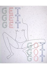 "Triana Drozd ""GET GOT"" digital print on hemp paper by Triana Drozd"