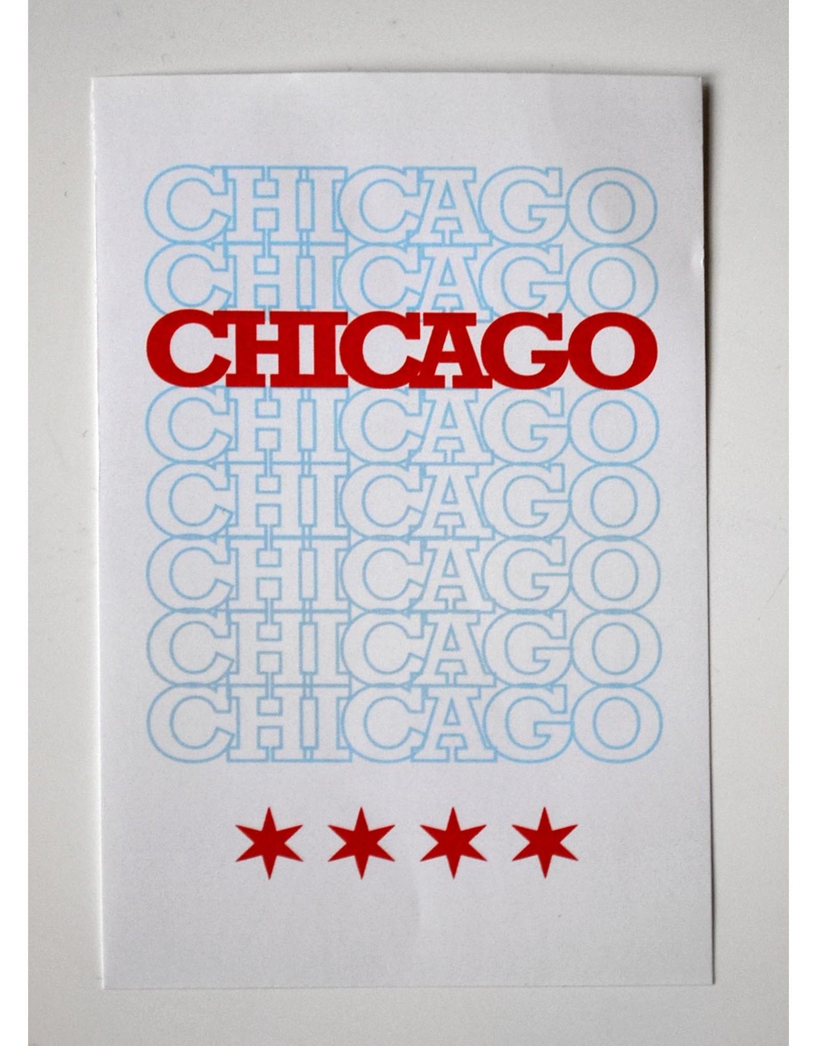 Knight Illustrations Corvus Press: Chicago Original Recyclable Sticker by David Knight